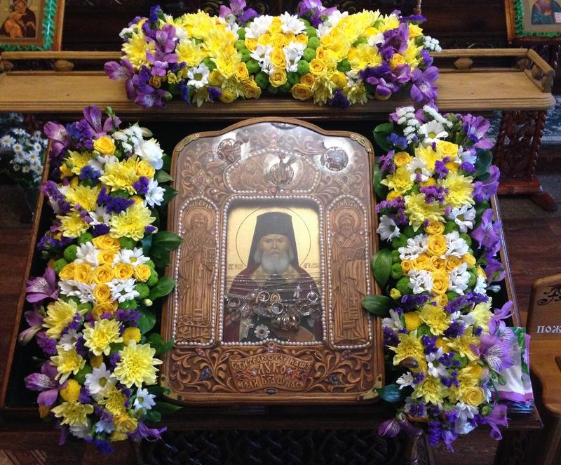 В день памяти святителя Луки в нашем храме отметили престольный праздник-Новости