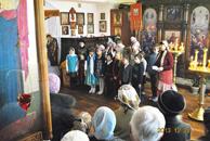 Дети воскресной школы поздравили прихожан с праздником святого Николая-Новости