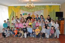 24 апреля воспитанники нашей Воскресной школы поздравили детей детского сада №15 с праздником Пасхи-Новости