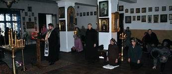 Настоятель храма совершил чтение канона прп. Андрея Критского-Новости