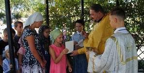 Настоятель совершил молебен перед началом учебного года-Новости