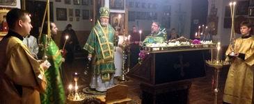 В день памяти преподобного Иоанна Кронштадского возглавил Митрополит Платон-Новости