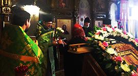 Духовенство и прихожане поздравили настоятеля с Днем Ангела-Новости