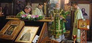 Архиерейское Богослужение в день памяти преподобного Сергия Радонежского-Новости