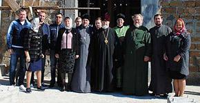 Высокопреосвященнейший Митрополит Платон с пастырским визитом в день престольного праздника посетил строищейся храм-Новости