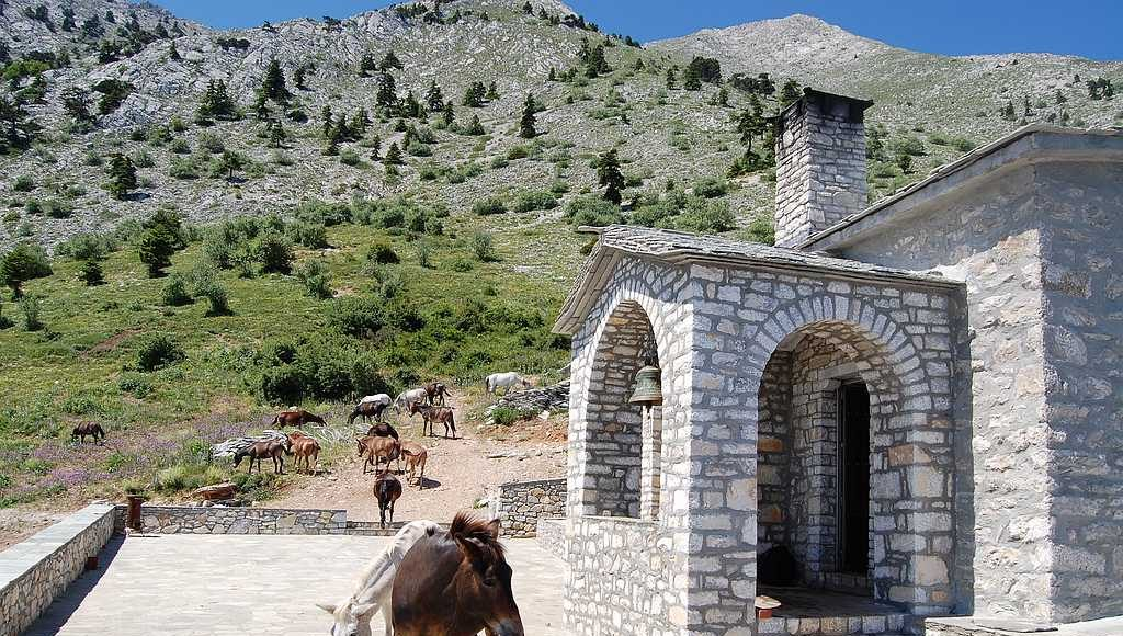 Панагия, храм Пресвятой Богородицы - почти вершина