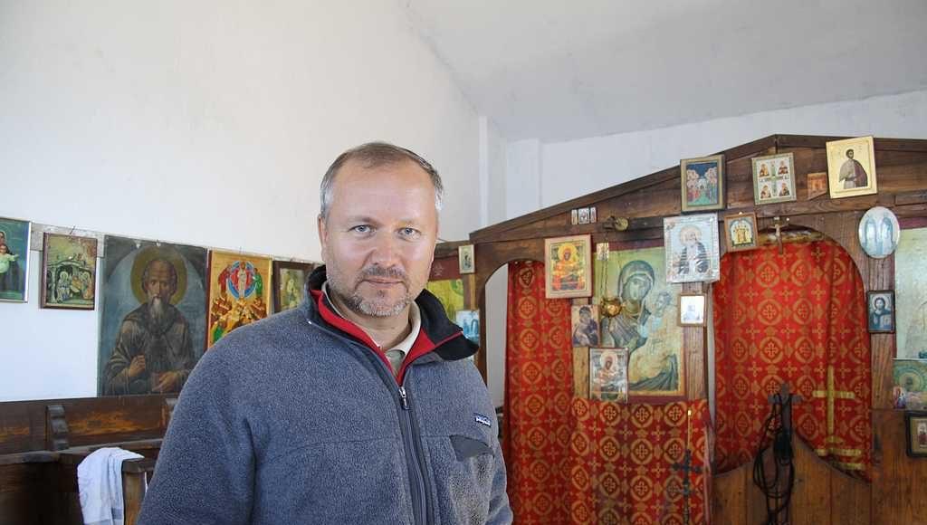 Брат Георгий паломник из Донецка