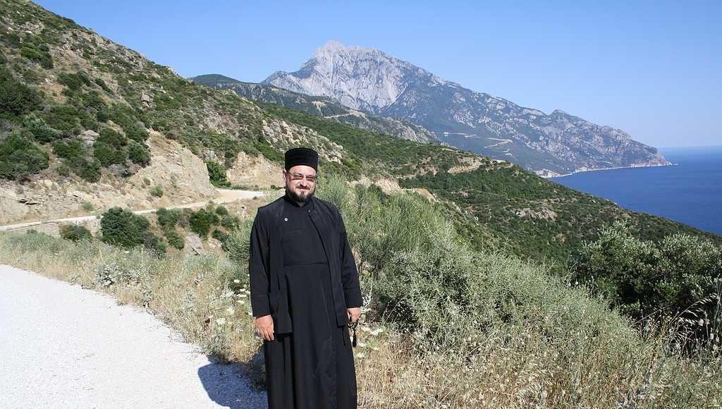 По дороге в монастырь Симона -Петра